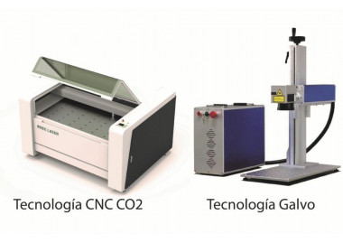 Diferencias entre Tecnología GALVO y CNC