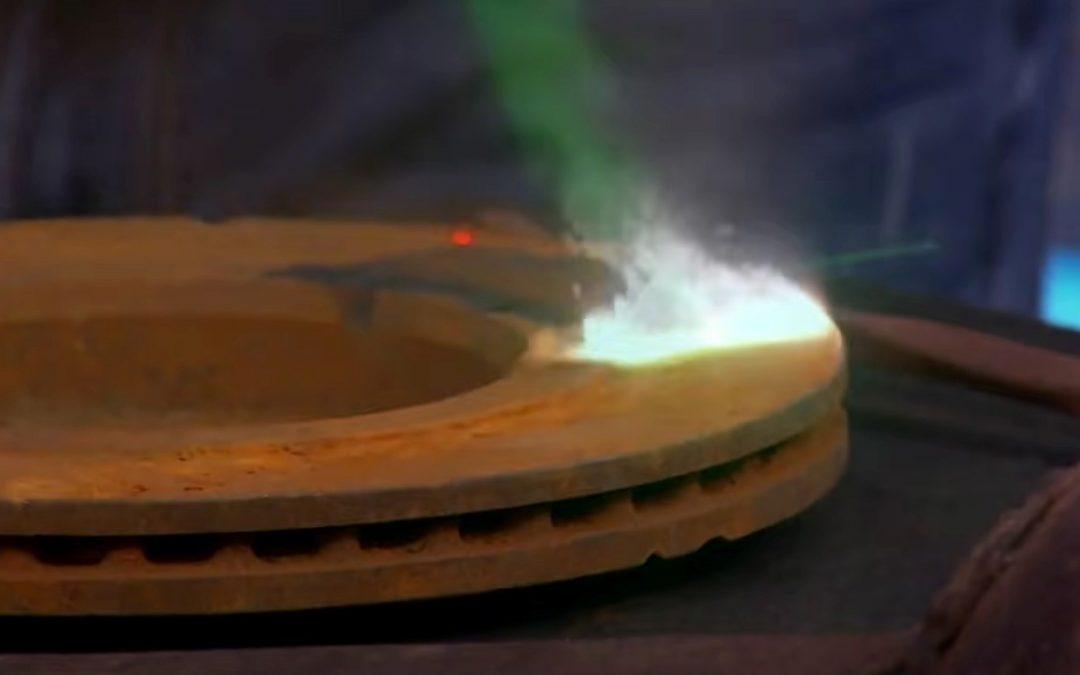 Preparación de materiales con limpieza láser
