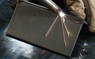 Soldadura láser de acero al carbono